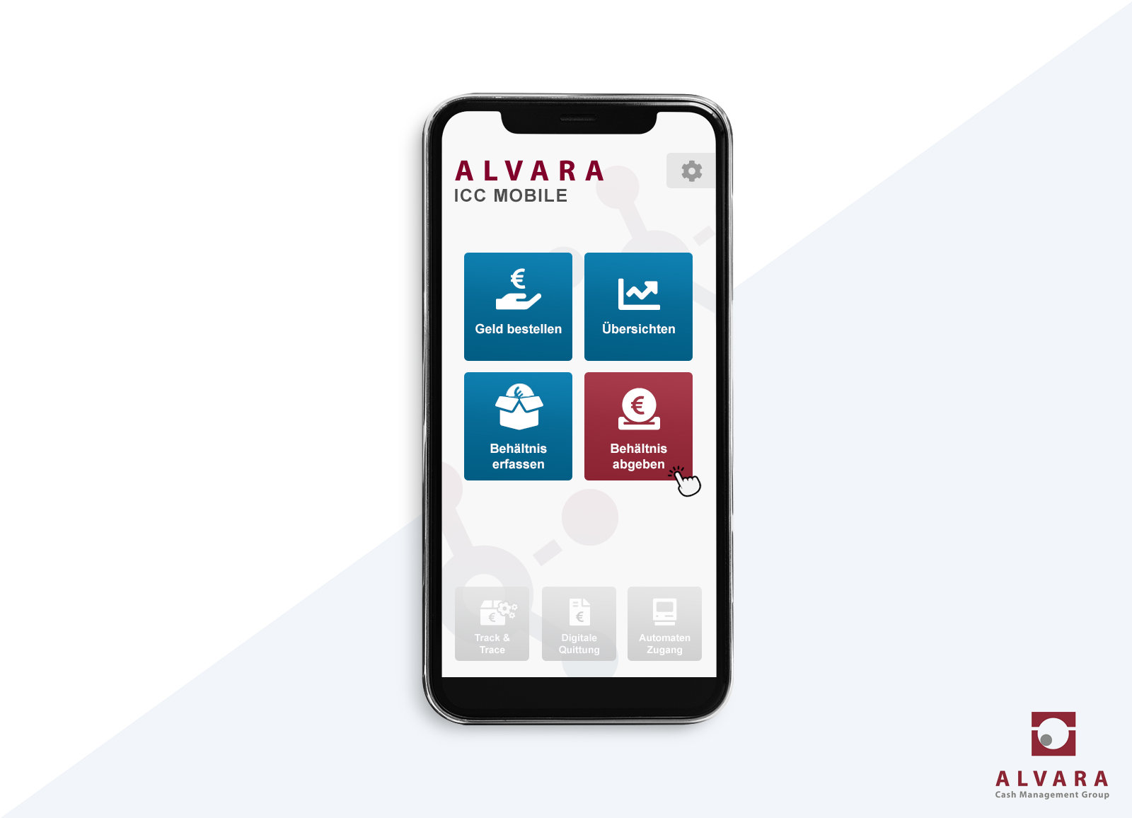Effizientes Bargeldmanagement: ALVARA launcht ICC App